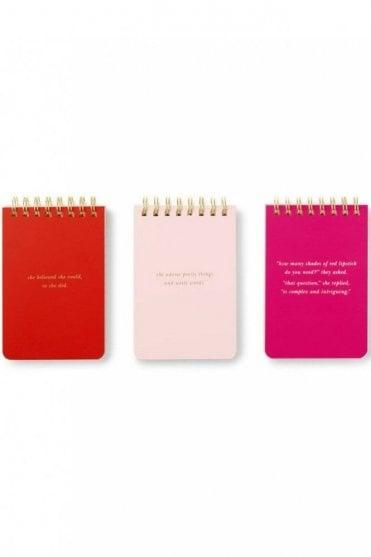 Spiral Notepad Set - She Statements