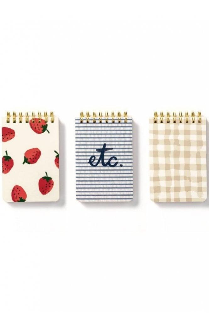 Kate Spade New York Spiral Notepad Set – Strawberries