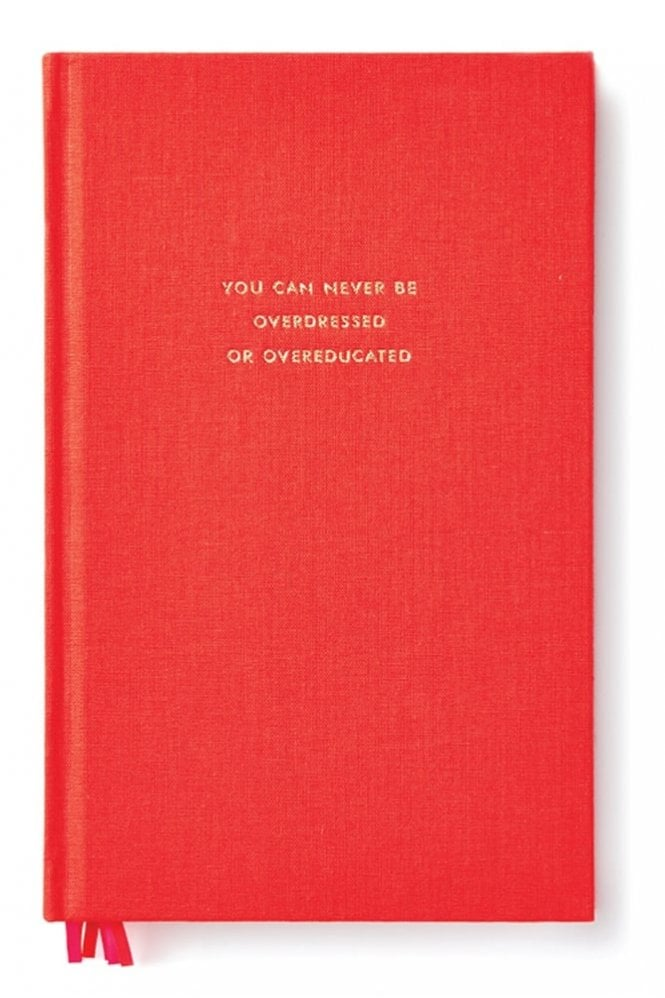 Kate Spade New York You Can Never Be Overdressed or Overeducated Journal