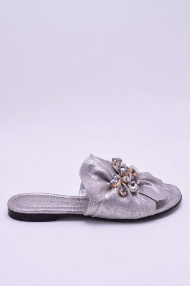 739d7b028 Elle Silver Metallic Sandal. Kennel   Schmenger ...