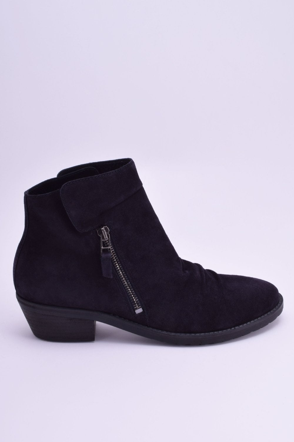skate shoes huge sale preview of Kim Suede Ankle Boot in Pacific
