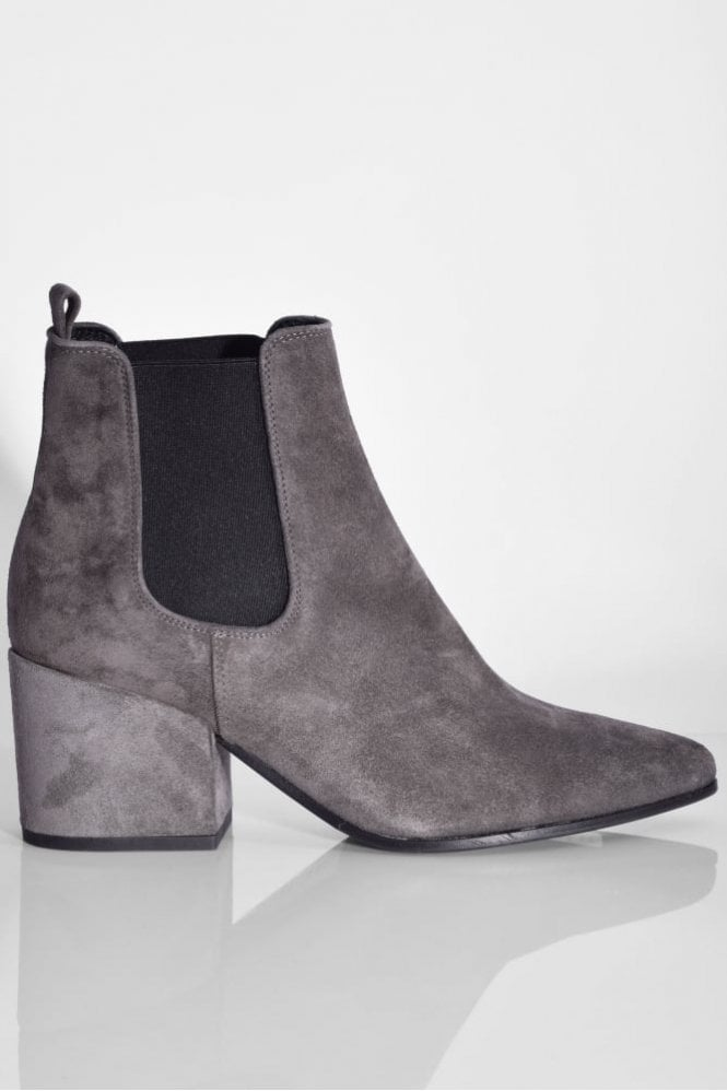 Kennel und Schmenger Abby Suede Boot in Anthracite