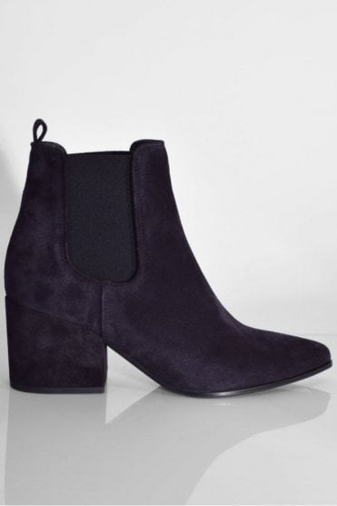 Abby Suede Boot in Pacific