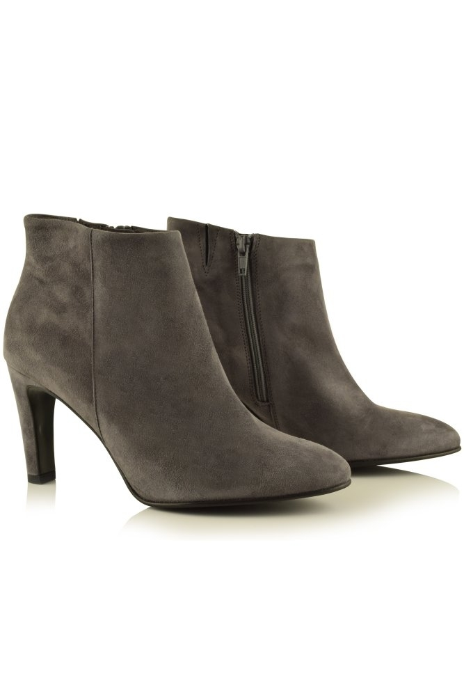 kennel und schmenger adele suede ankle boot in steel at. Black Bedroom Furniture Sets. Home Design Ideas