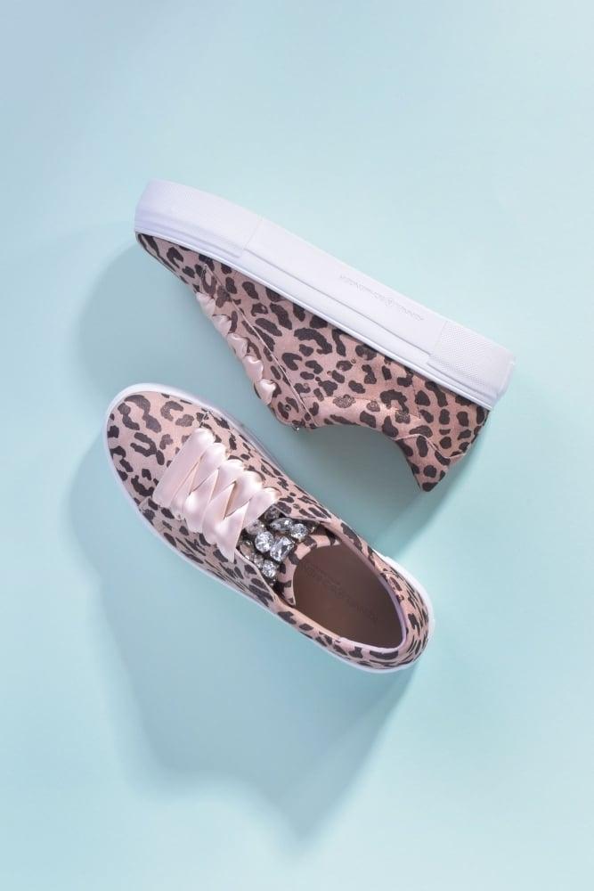kennel und schmenger big leopard trainer in rose at sue. Black Bedroom Furniture Sets. Home Design Ideas