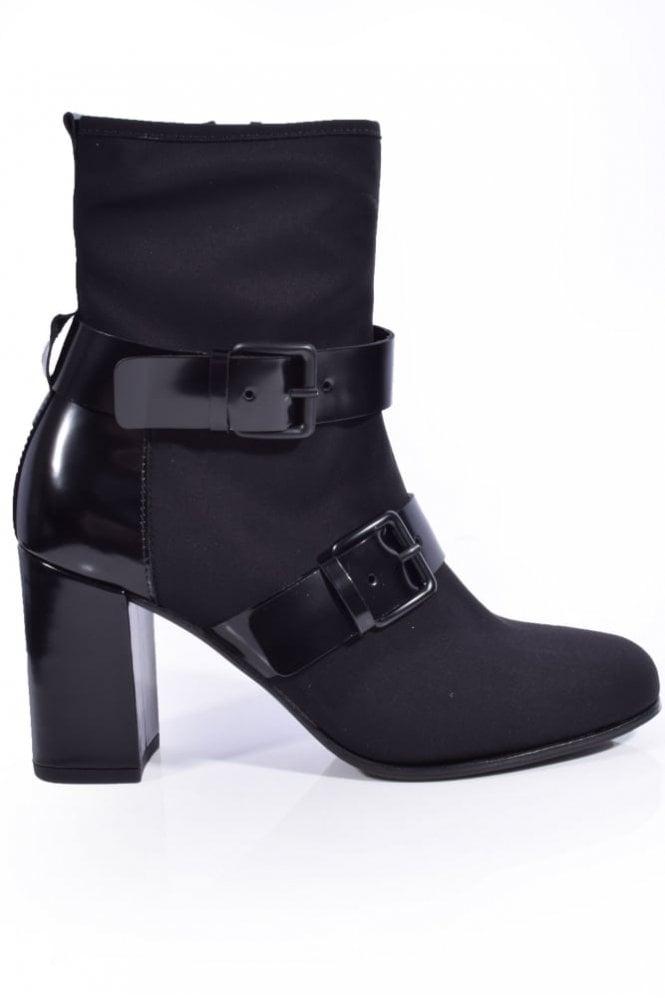 Kennel und Schmenger Karen Stretch Buckle Detail Boot in Black