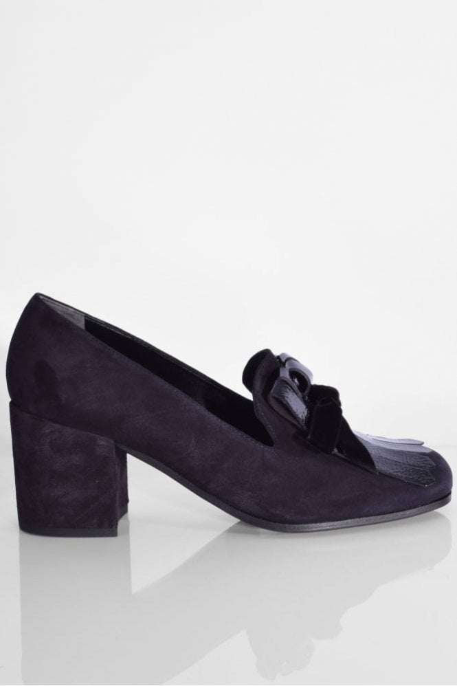 Kennel und Schmenger Kiko Block Heel Pump in Pacific