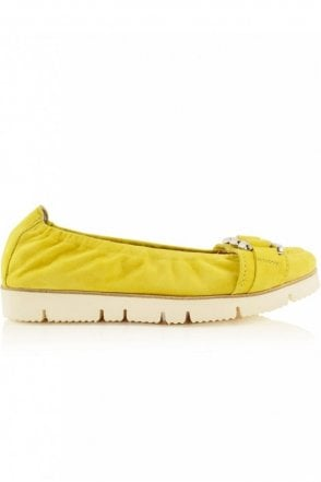 Malu Chain Front Pump in Yellow