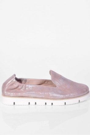 Malu X Slip On in Light Rose