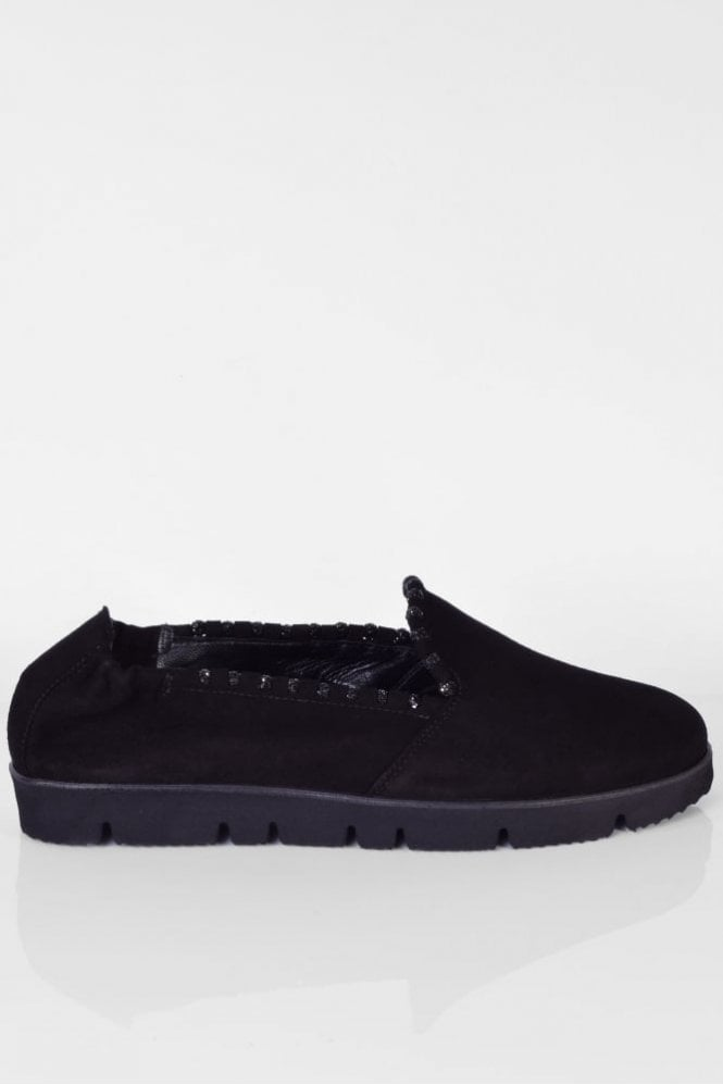 Kennel und Schmenger Malu X Suede Slip On in Black