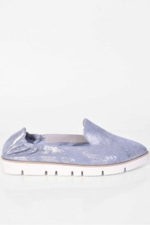 Pia X Slip On in Heaven Blue
