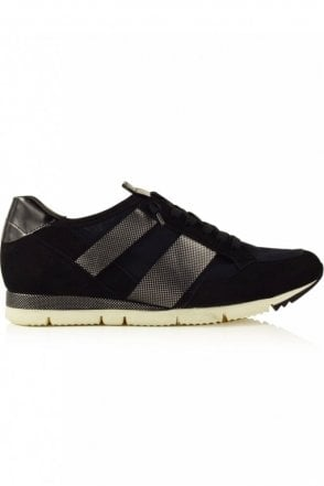 Tiger Mesh Trainer in Black