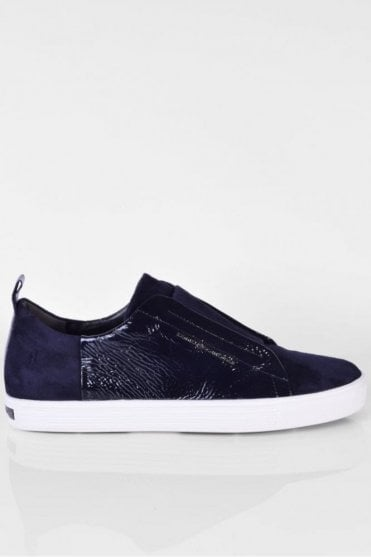 Town Patent Trainer in Navy