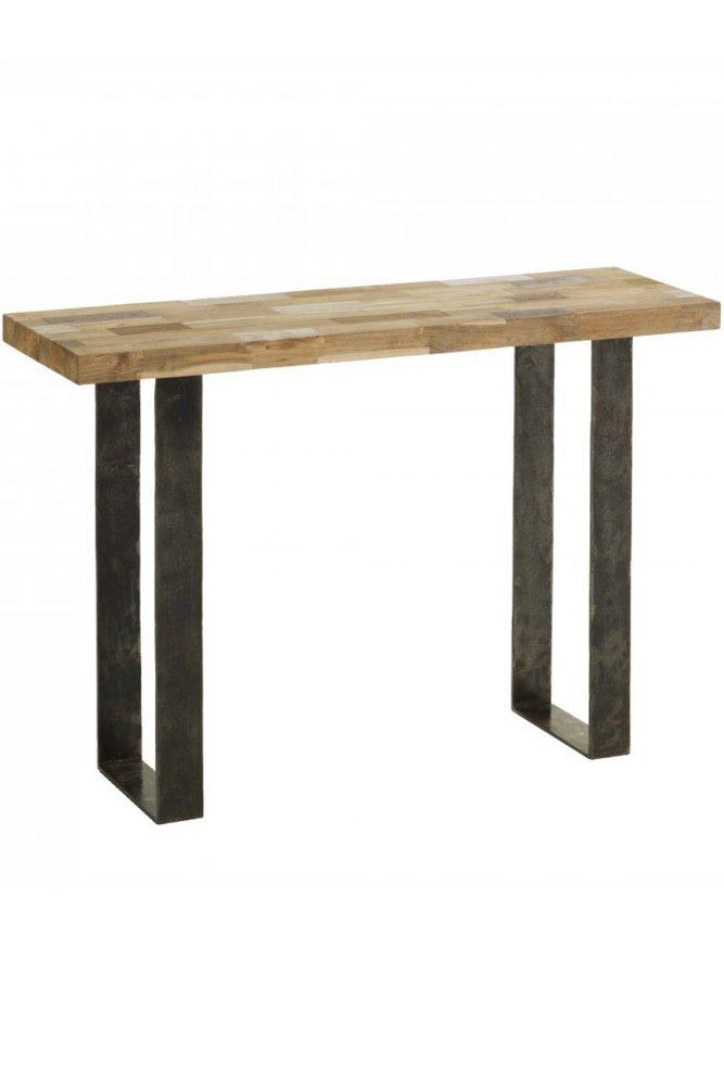 Kok maison mosaique console table at sue parkinson - Table exterieur mosaique ...