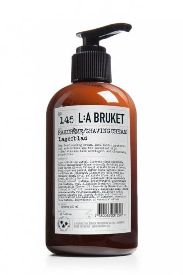 No. 145 Laurel Leaf Shaving Cream, 200ml