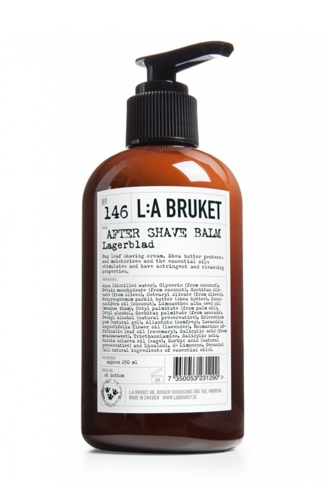L:A BRUKET No. 146 Laurel Leaf After Shave Balm, 200ml