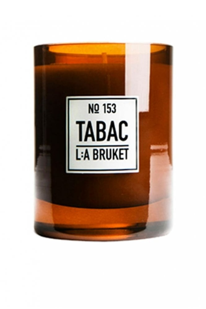 L:A BRUKET No. 153 Tabac Scented Candle, 260g