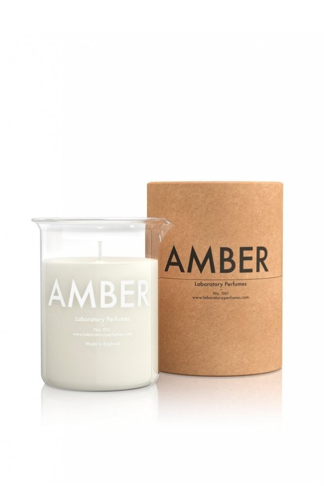 Laboratory Amber Candle