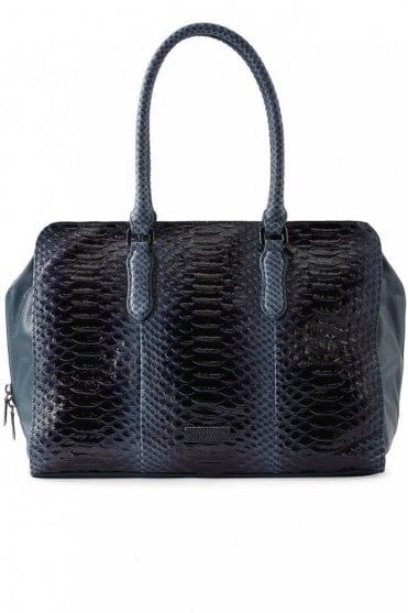 Keira Shopper Bag in Dark Blue