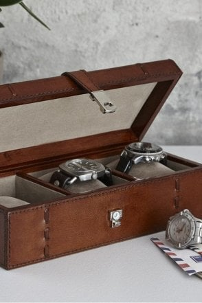 Leather Watch Box