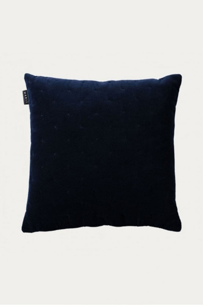Linum Paul Cushion in Ink Blue