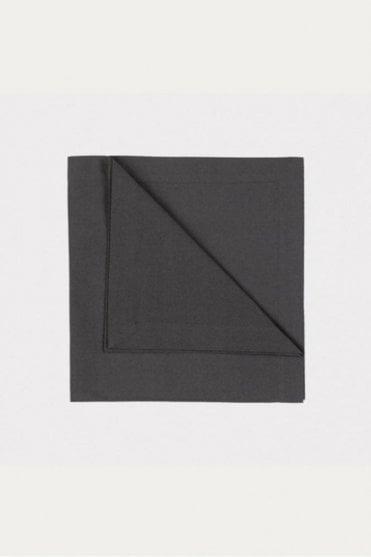Robert Napkin 4-Pack in Dark Charcoal Grey