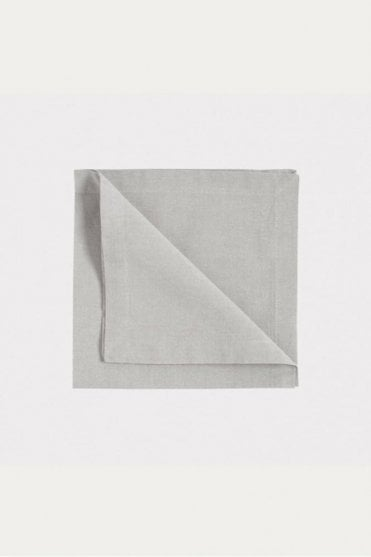 Robert Napkin 4-Pack in Light Grey
