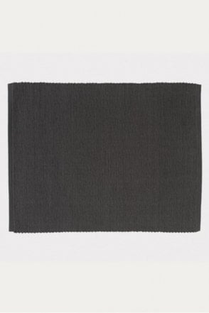 Set of 4 Gran Placemats in Dark Charcoal Grey