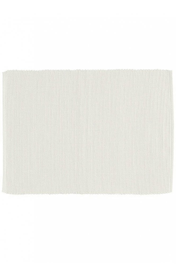 Linum Set of Four Gran Table Mats in White