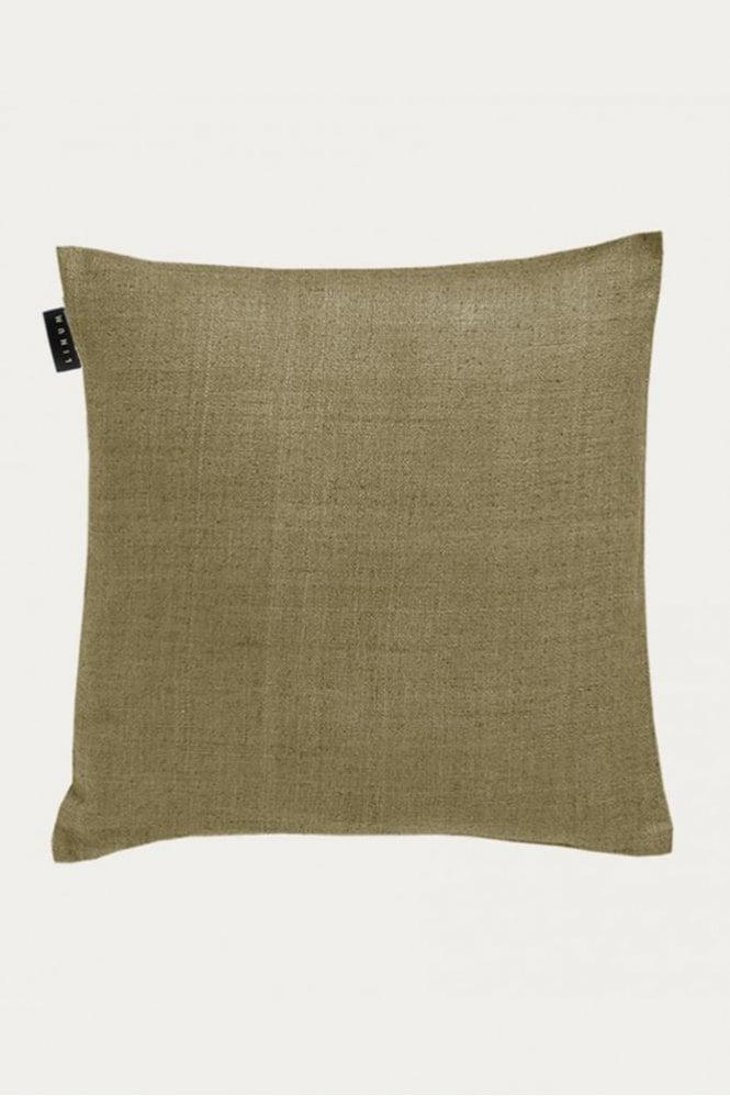 Linum Seta Cushion in Light Bear Brown