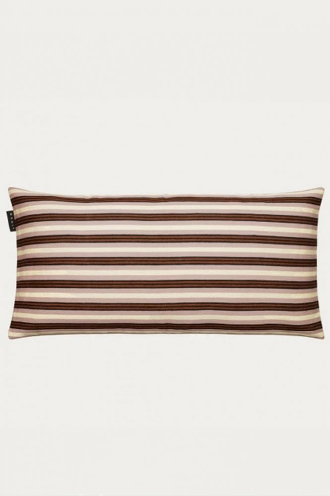 Linum Taylor Cushion in Mocha Brown