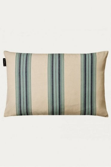 Wyler Cushion in Dark Grey Blue