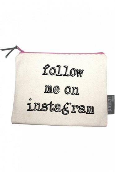Follow Me On Instagram Medium Pouch