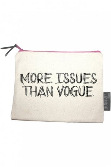 More Issues Than Vogue Medium Pouch