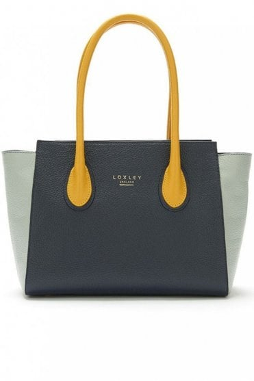 Mini Devonshire Tote in Colour Block