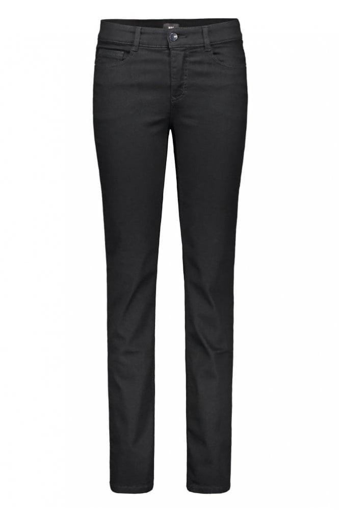 Mac Angela Slim Fit Jeans in Black
