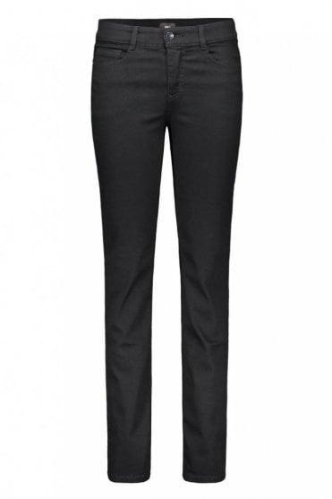 Angela Slim Fit Jeans in Black