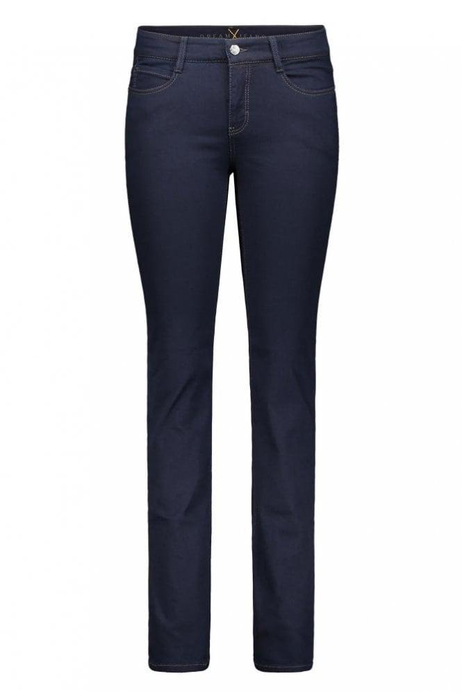42691e7067cf77 Mac Dream Straight Leg Jeans in Dark Rinsewash at Sue Parkinson