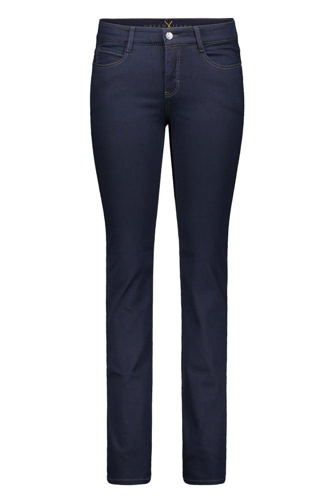 mac dream straight leg jeans in dark rinsewash at sue parkinson. Black Bedroom Furniture Sets. Home Design Ideas