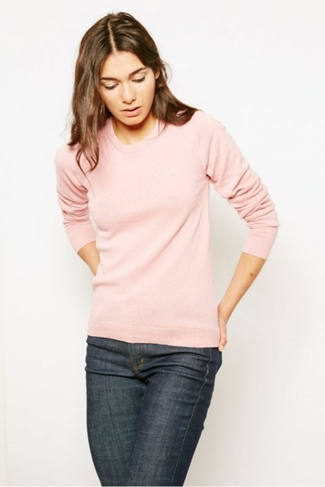 Maison Labiche Amour Sweater in Pink