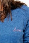 Maison Labiche Chérie Sweatshirt in Ultramarine