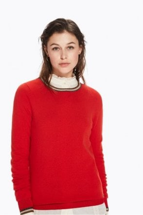 Basic Rib Knitted Pullover