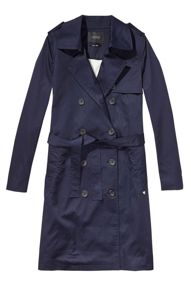 maison scotch classic trench coat at sue parkinson. Black Bedroom Furniture Sets. Home Design Ideas