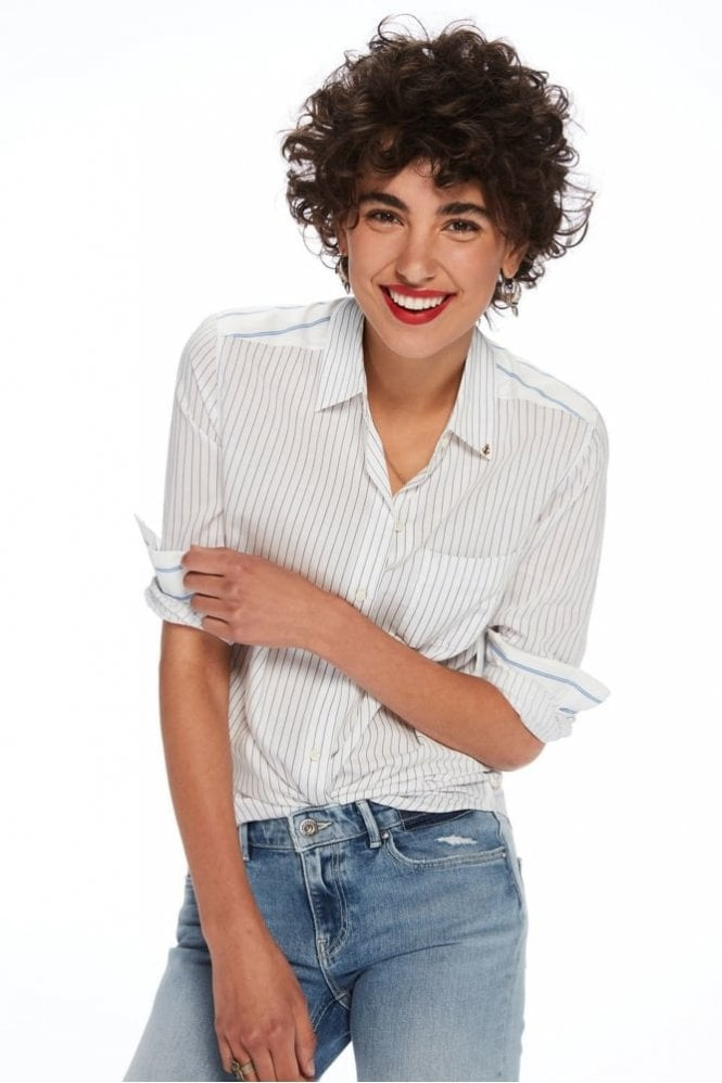 Maison Scotch Clean Cotton Shirt