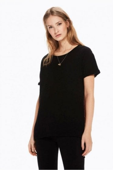 Contrast Back T-Shirt in Combo C