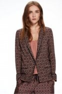 Maison Scotch Draped Pyjama Blazer