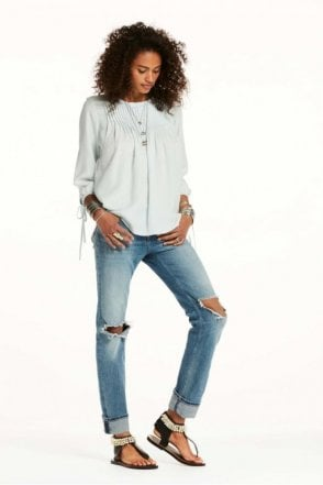 Drapey Tencel Top