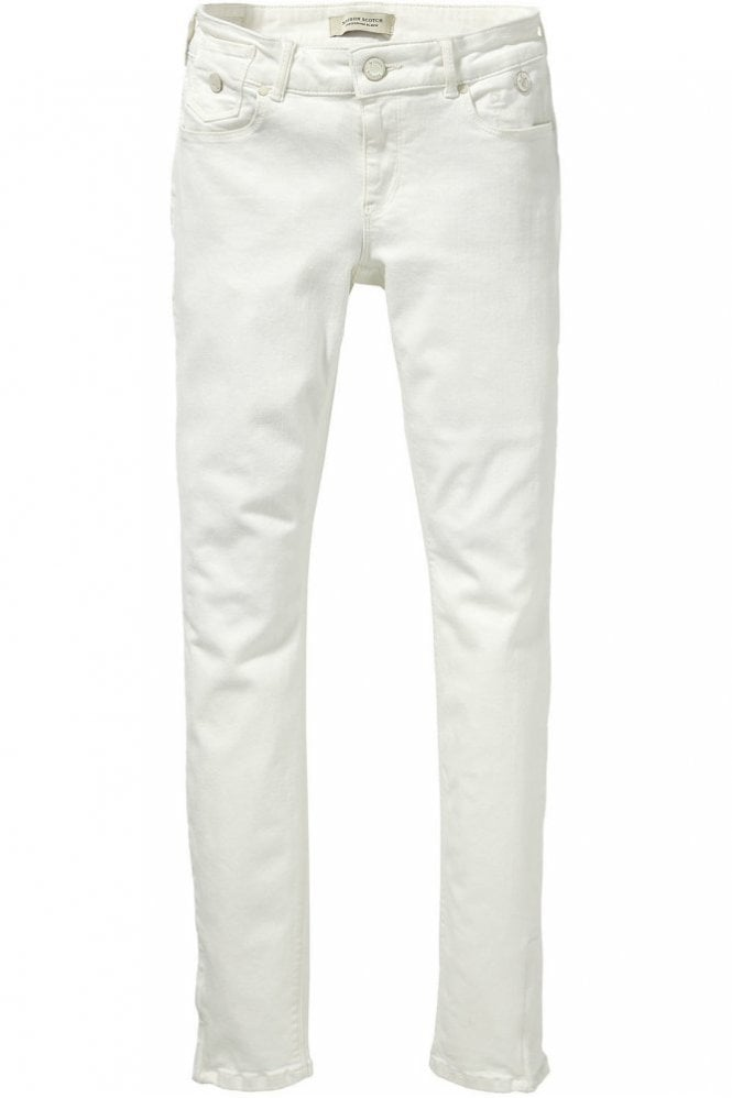 Maison Scotch La Parisienne Jean in Super White