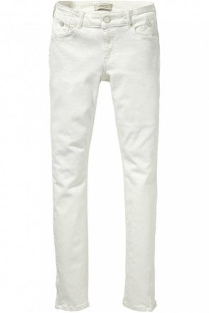 La Parisienne Jean in Super White