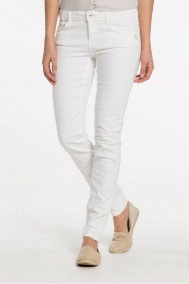 La Parisienne Jean in Super White